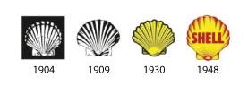 Shell logos 1904-48