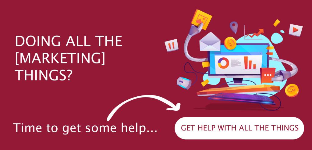 Small business marketing help