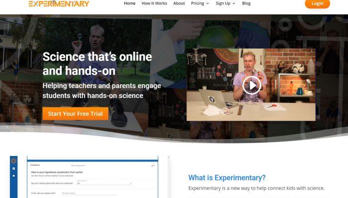 Experimentary website