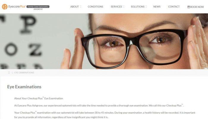 Eyecare Plus Ashgrove Eye Examinations