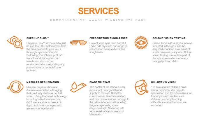 Eyecare Plus Redbank Plains website
