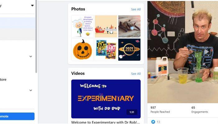Experimentary Facebook